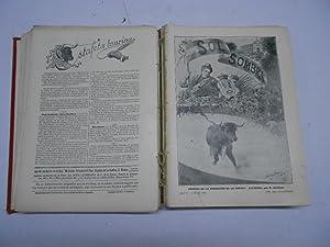 SOL Y SOMBRA, Semanario Taurino, año 1902 completo. (del nº 257 (almanaque) 1º de ...