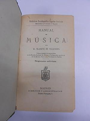 MANUAL DE MUSICA. Junto con Felipe Picatoste: LA ESTETICA. en la naturaleza, en la ciencia y en el ...