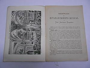 SALON - ROMERO. Almanaque Musical para 1885.