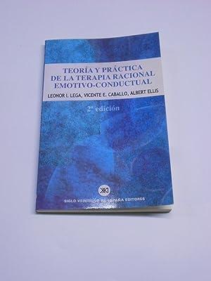 TEORÍA Y PRÁCTICA DE LA TERAPIA RACIONAL: LEGA, Leonor, V.