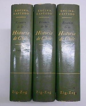 RESUMEN DE LA HISTORIA DE CHILE. 3: ENCINA, Francisco A.