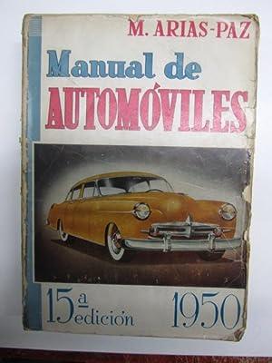 MANUAL DE AUTOMOVILES.: ARIAS PAZ, Manuel