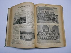 BLANCO Y NEGRO, AÑO 1896 COMPLETO.: Revista- Guerra de Cuba)