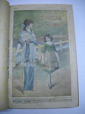EL HOGAR Y LA MODA. Revista de la moda. Año 1914.: Moda)