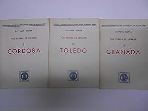 POR TIERRAS DE SEFARAD. I- Córdoca. II-Toledo. III- Granada. Ciclo de conferencias del museo judío ...