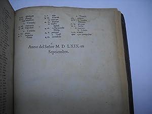LA BIBLIA, QUE ES LOS SACROS LIBROS DEL VIEJO Y NUEVO TESTAMENTO. Trasladada en Español. ...