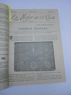 LA MUJER EN SU CASA. Revista mensual de Moda, Labores y Cuidados del Hogar. Del nº 205, Enero,...
