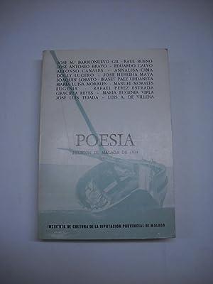 POESIA. Reunión de Málaga de 1974.: Poesía)