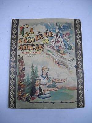 LA CASITA DE AZUCAR O PEDRITO Y MARUJA, en 6 dioramas.: Infantil)