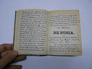 LOS MISTERIOS DE RUSIA. Cuadro político y moral del Imperio ruso. (Historia, biografí...