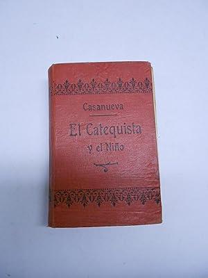 EL CATEQUISTA Y EL NIÑO. Colección de: SANCHEZ CASANUEVA, Bernardo