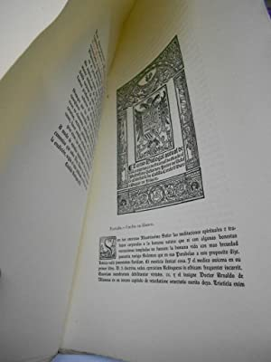 PALINODIA DE LOS TURCOS. Reproducción facsimilar de la rarísima de Orense 1547. ...