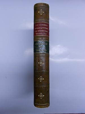CXIV Congres International de Medicine, Madrid, Avril 1903. Comptes rendus publies sous la ...