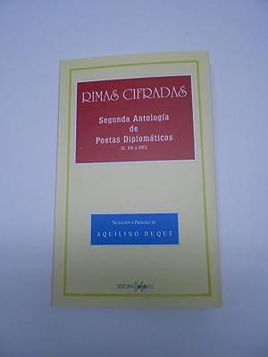 RIMAS CIFRADAS. Segunda Antología de Poetas Diplomáticos.: Poesía)