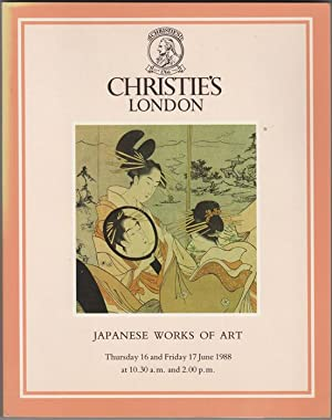 Japanese Works of Art. Japanese Ceramics, Bronzes,: Christie's (Christie, Manson