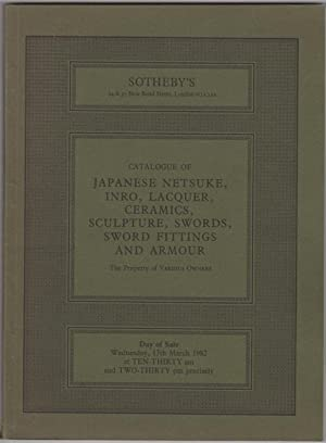 Catalogue of Japanese Netsuke, Inro, Lacquer, Ceramics,: Sotheby's (Sotheby Parke