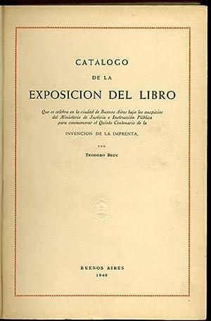 Catálogo de la exposición del libro, que: Becu, Teodoro
