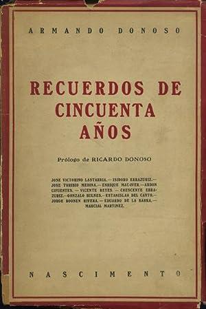 Recuerdos de cincuenta años: Donoso, Armando