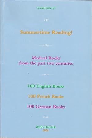 Summertime Reading! Medical Books from the past: Dordick, Webb