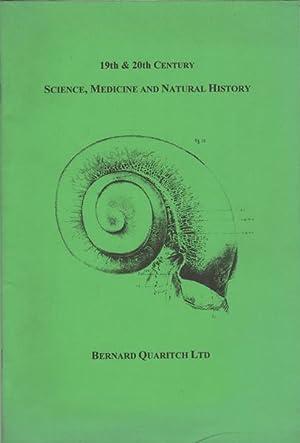 19th & 20th Century Science, Medicine and: Quaritch, Bernard