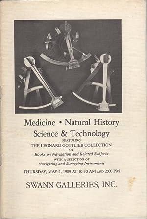 Medicine. Natural History. Science & Technology featuring: Gottlieb, Leonard. Swann