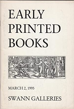 Early Printed Books. Bibles, Dictionaries & Encyclopedias,: Swann Galleries