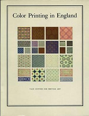 Color Printing in England, 1468-1870: Friedman, Joan M.