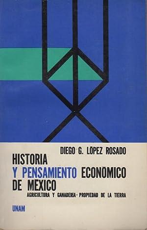 Historia y pensamiento economico de Mexico: Agricultura: Lopez Rosado, Diego