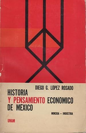Historia y pensamiento economico de Mexico: Mineria: Lopez Rosado, Diego