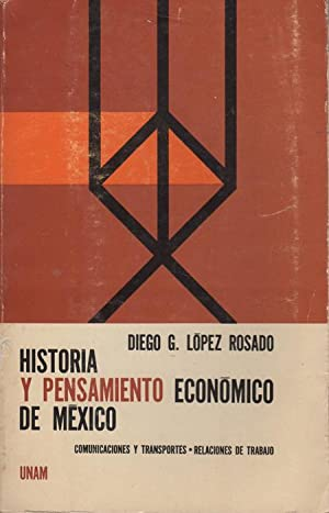 Historia y pensamiento economico de Mexico: Comunicaciones: Lopez Rosado, Diego