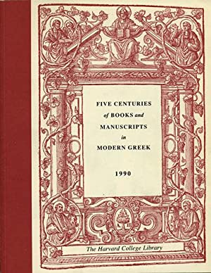 Five Centuries of Books and Manuscripts in: Layton, Evro