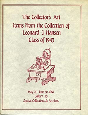 The Collector's Art. Items from the Collection: Kraus, Janice A.;