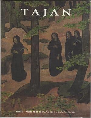 Tableaux et Sculptures Des XIX et XX: Tajan