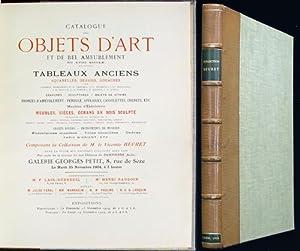 Catalogue des objets d'art et de bel: Beuret, le Vicomte