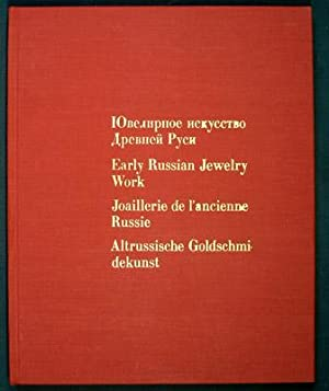 Early Russian Jewelry Work. IUvelirnoe iskusstvo Drevnei: Svirin, A. N.