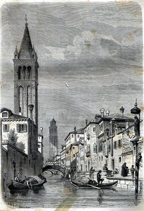 "Venise, 185.,"" from Le Tour du Monde.: Beaumont, Adalbert de"