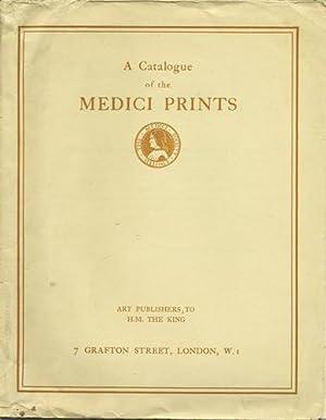 A Catalogue of Medici Prints. Art Publishers: Medici Society
