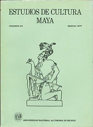 Estudios de Cultura Maya. Volumen XII, Mexico: Universidad Nacional Autonoma