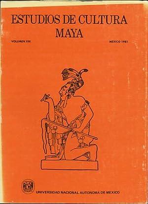Estudios de Cultura Maya. Volumen XIII, Mexico: Universidad Nacional Autonoma