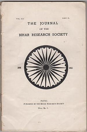 The Journal of the Bihar Research Society.: Datta, K.K., ed