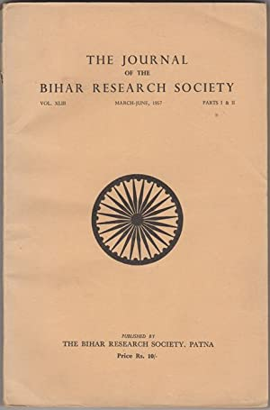 The Journal of the Bihar Research Society.: Datta, K. K.,