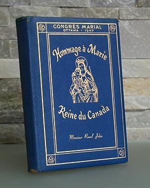 A Marie, Reine du Canada. L'hommage des poètes canadiens-français. Lettres-pr&...