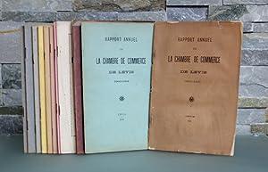 Rapport annuel de la Chambre de Commerce de Lévis. Avons de 1902-1903 à 1918-1919.: ...
