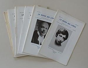 La Revue des livres. Vol. I, nos 1 à 12 et vol. II, no.1.: CRITIQUE LITTERAIRE).