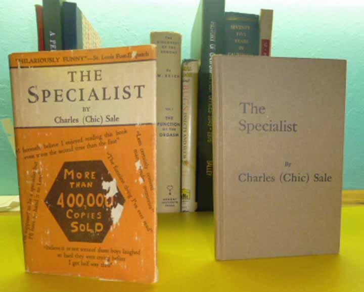 The Specialist By Charles Chic Sale Specialist Publishing Company
