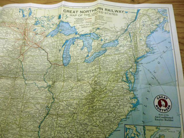 Two item listing - Map of the United States ...