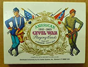 American 1861-1865 Civil War Playing Cards
