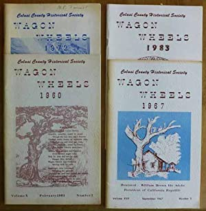 Wagon Wheels - Vols. 10 (Feb. 1961); 17 (Sept. 1967); 22 (Sept. 1972); 33 (1983 Fall Edition)