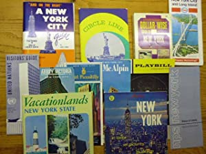 A New York Bonanza - - Playbill (1970) - - Circle Line (1970) - - A New York City Guide (1967) - ...