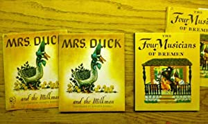 Mrs. Duck and the Milkman and The Four Musicians of Bremen (two book listing)